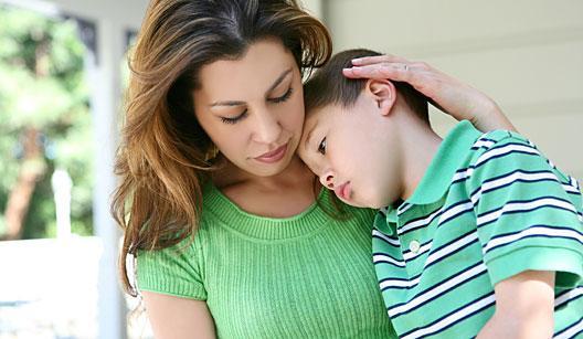 Aos oito, criança teme a morte da mãe