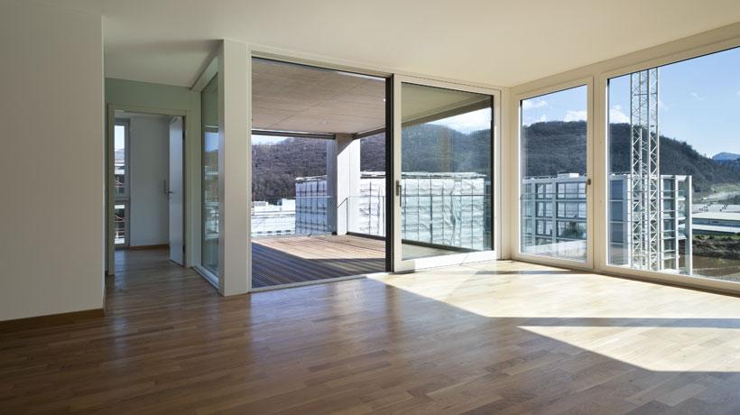 apartamento de andar alto com vista