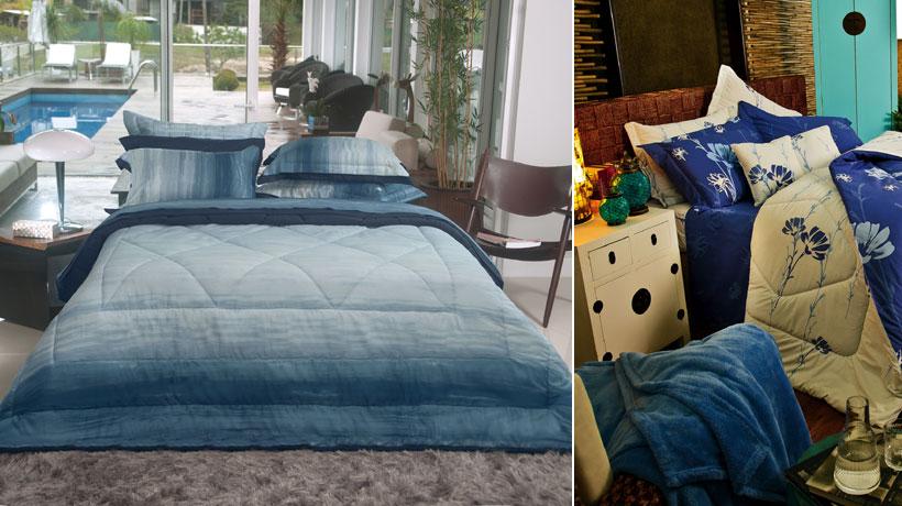 Roupas de cama, mesa e banho também decoram ambientes