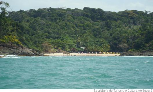 Praia do Ribeira, em Itacaré, Bahia