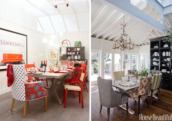 Fotos: 1 - sarahrichardsondesign.com; 2 - housebeaultiful.com