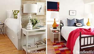 8 dicas de decoração para quartos pequenos