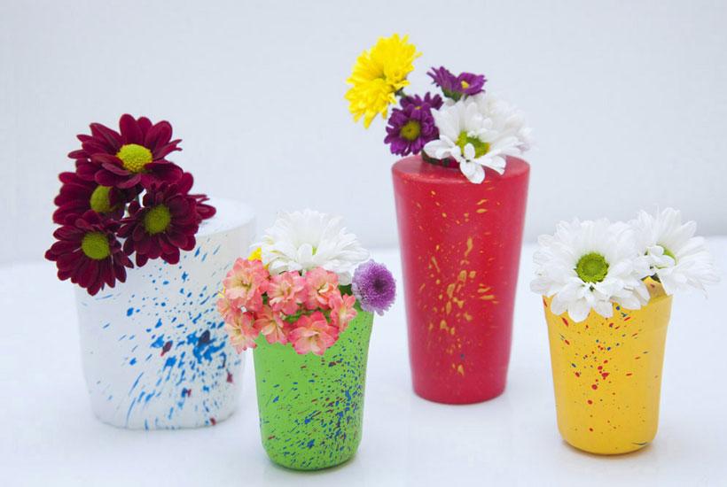 Vasinhos coloridos