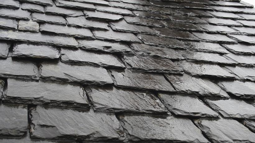 Peças de ardósia para telhado