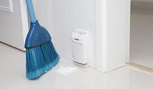 Aspiração central torna a limpeza mais prática
