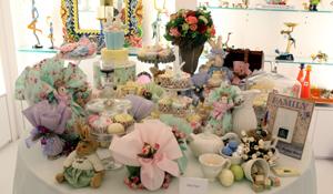 Mesas decoradas para Páscoa
