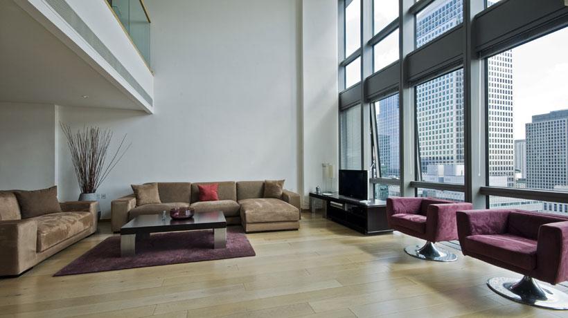 Apartamento duplex com mezanino