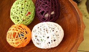 Como fazer ovinhos de lã para decorar a casa na Páscoa