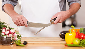 Como afiar faca