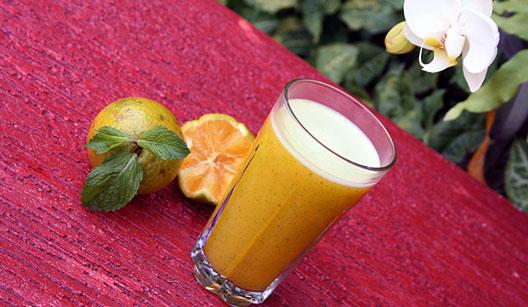 Suco vitamina C