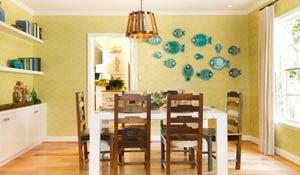 Peixinhos para decorar a casa de praia