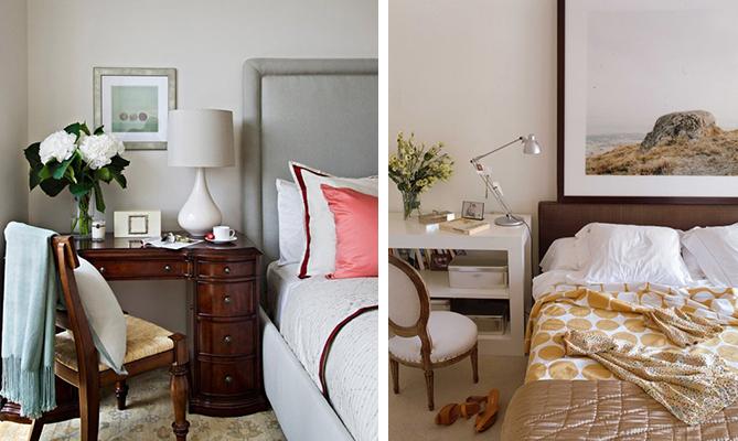 Fotos: 1 - apartmenttherapy.com; 2 - mariaallado.com