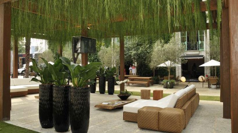 Jardins unem conforto e sustentabilidade