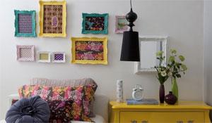 Dicas para usar quadros e molduras na decoração