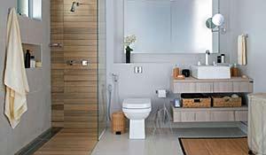 Opções de revestimentos para banheiro