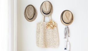 Como organizar chapéus