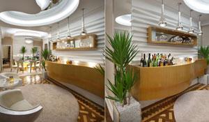Inove na decoração da casa com um bar contemporâneo