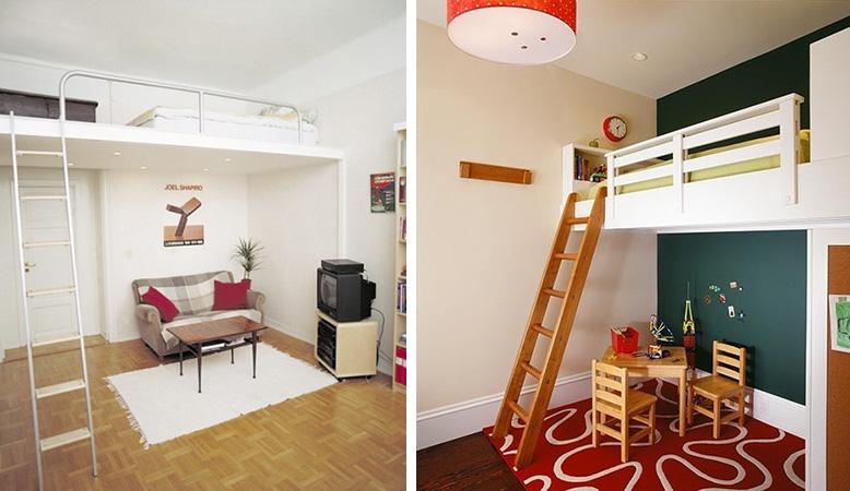 Fotos: 1 - dornob.com; 2 - apartmenttherapy.com