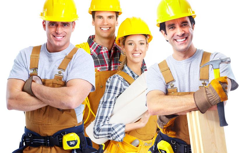 operários da construção civil