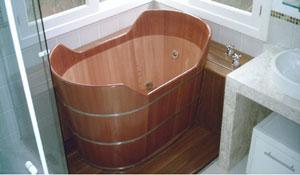 Tenha uma banheira em casa