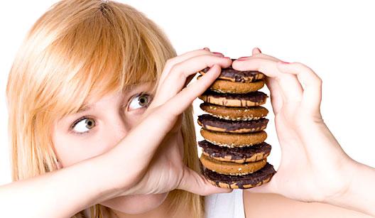 A ansiedade gera compulsão por calorias