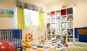 Nichos para organizar o quarto das crianças