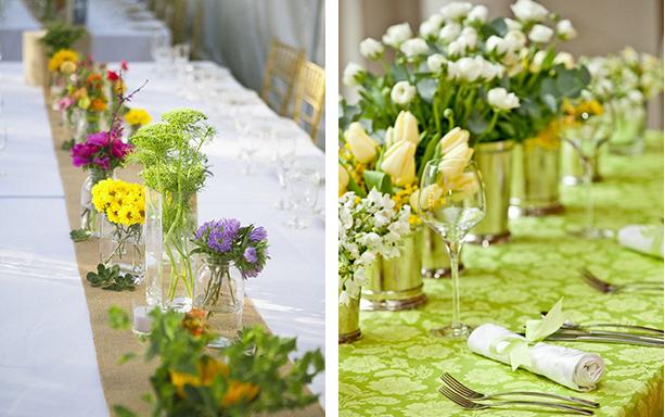 Fotos: 1 - pinterest.comijahalkaffwedding-ideas; 2 - partyingredients.co.uk