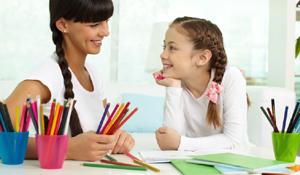 Como organizar o material escolar das crianças
