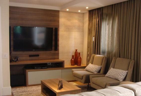 Painéis de madeira dão aconchego e conforto térmico