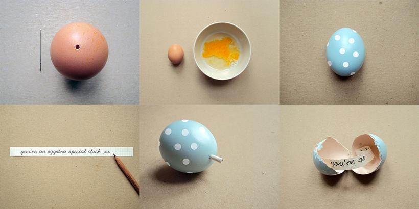 Ovos decorados para páscoa