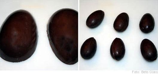Forma de ovo de Páscoa