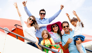 Como organizar uma viagem em família