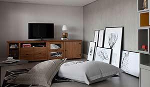 Como decorar com quadros sem furar a parede