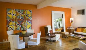Color block ganha espaço na decoração
