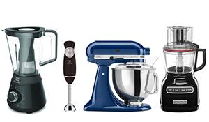 Diferença entre liquidificador, mixer, batedeira e processador