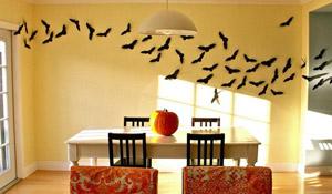 Como fazer morcegos de papel para halloween