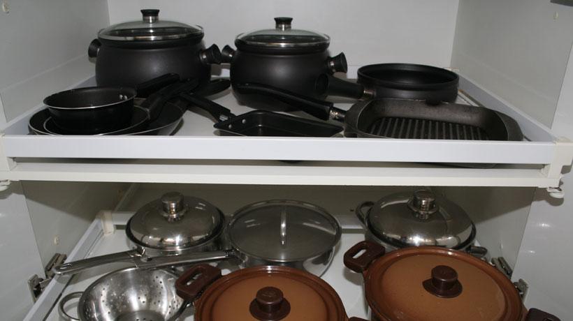 Utensílios usados no fogão