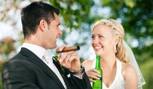 Quais bebidas servir em festas de casamento