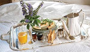 Como decorar uma bandeja de café da manhã