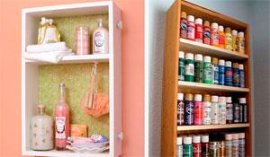 Como reutilizar gavetas para decorar e organizar a casa