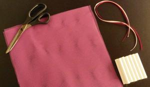 Como fazer um saquinho antimofo de giz