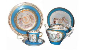 Móveis e objetos com estilo barroco