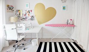 Três estilos de quarto de costura para inspirar
