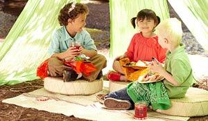Ideias de decoração para um piquenique infantil