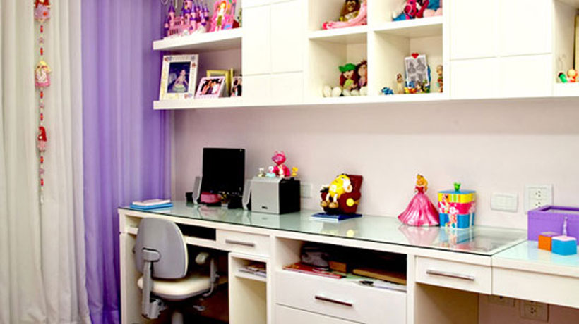 Quarto de adolescente decorado