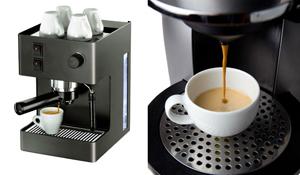Café expresso em casa