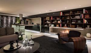 Estúdio gourmet inspirado em Nova Iorque