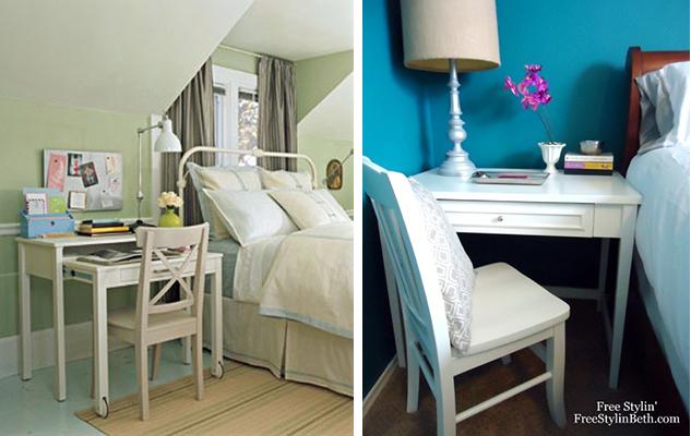 Fotos: 1 - apartmenttherapy.com; 2 - freestylinbeth.com