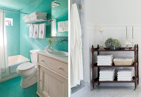 Soluções práticas para organização do banheiro