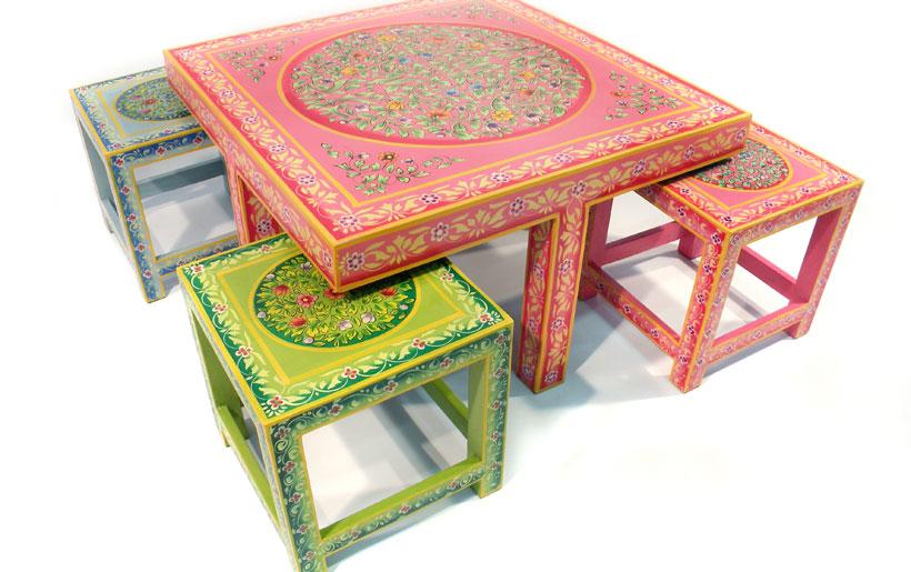 Mesas encaixadas